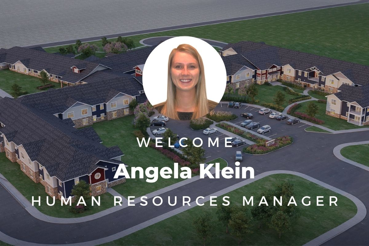 Welcome, Angela Klein — Our Human Resources Manager